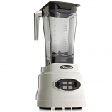 Omega BL630W Commercial Blender, 3 HP, Timer, Cyclic, 64oz Capacity, White