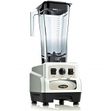 Omega BL460S Commercial Blender 64oz 3-HP Variable Speed Pulse Control Silver