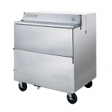 """Beverage Air SMF34Y-1-S Stainless Steel Forced Air Milk Cooler 1 Sided - 34"""""""