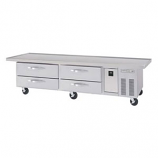 """Beverage Air WTRCS84-1-89 Refrigerated Chef Base - 89"""""""
