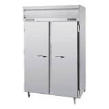 "Beverage Air PRF24-24-1AS-02 2 Section Dual Temperature 52"" Reach-In Top Mount- 46 cu. ft., Stainless Steel"