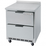 """Beverage Air WTRD27A-2 27"""" Compact Worktop Refrigerator - 2 Drawer"""