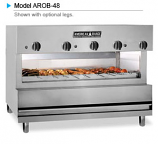 American Range AROB-60 Infra-Red Overfired Broilers