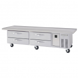 """Beverage Air WTRCS84-1-96 Refrigerated Chef Base - 96"""""""