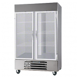 Beverage Air HBRF49-1-G Reach-In Refrigerator Freezer w/ Right & Left Hinged Glass Doors, 49-cu ft