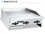 American Range ACCG-60 Concession Gas Griddle