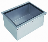 """Bar King D-24-IBL-7 Insulated Drop-In Ice Bin with Cold Plate, 21""""W x 18""""L X 10""""H"""