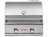 Delta Heat DHBQ32G-CL Propane Gas Grill with Interior Light 32 Inch