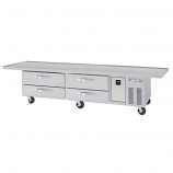 """Beverage Air WTRCS112-1-120 Refrigerated Chef Base - 120"""""""