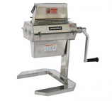 Uniworld MTA74 Stainless Commercial Meat Tenderizer with Hand Crank