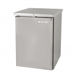 """Beverage Air BB36F-1-S 36"""" Food Rated Solid Door Back Bar Refrigerator - Stainless Steel"""