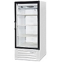 """Beverage Air LV10-1-W-LED White Refrigerated Glass Door Merchandiser with LED Lighting 24"""""""
