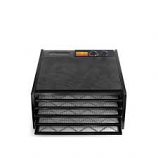 Excalibur 3526TB 5 Tray Dehydrator with Timer Black
