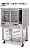 American Range MSD-1 Majestic Series Single Convection Ovens Solid Doors