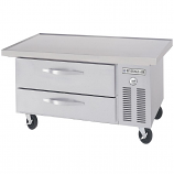 """Beverage Air WTRCS36-1-48 Two Drawer Refrigerated Chef Base - 48"""""""