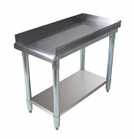 BK Resources SVET-1530 Equipment Stand with Stainless Steel Top Shelf and Undershelf
