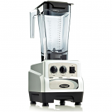 Omega BL480S Commercial Blender, 3 HP, Timer, Cyclic, 64oz Capacity, Silver