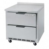 """Beverage Air WTRD36A-2 36"""" Compact Worktop Refrigerator - 2 Drawers"""