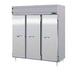 Beverage Air PRF48-24-1AS-02 Refrigerator/Freezer, Reach-In,Top Mount, 3 Section, SS Doors