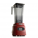 Omega BL660R Commercial Blender, Timer, Cyclic, Pulse, 82-oz, Variable 3-hp, Red
