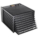 Excalibur 3926TB 9 Tray Food Dehydrator Black