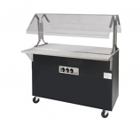 Triumph B2-STU-B-SB Portable Cold Food Buffet Table Solid Top w/ Solid Base, Ice Cooled