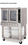 American Range ME-1 Majestic Series Single Bakery Depth Convection Ovens, Solid Doors