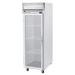 Beverage Air HBR23-1-G-WINE Reach-In Wine Refrigerator w/ Right Hinged Glass Door, 23-cu ft, Stainless