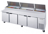 Beverage Air DP119 Pizza Prep Table - 119""