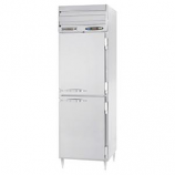 Beverage Air PRF12-12-1HS-02 1 Section Half Door Dual Temperature Reach-In, Top Mount, 18 cu. ft., Stainless Steel