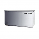 """Beverage Air MS68-1-S Single Sided Milk Cooler with Stainless Steel Top - 68"""""""