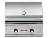 Delta Heat DHBQ26G-CL Propane Gas Grill with Interior Light 26 Inch