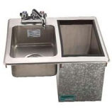 """Bar King D-24-SIBL Insulated Ice & Hand Sink Unit 21.25""""W x 18""""L"""