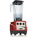 Omega BL490R Commercial Blender, 3 HP, Timer, Cyclic, 82oz Capacity, Red