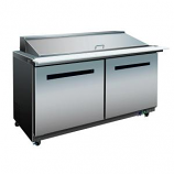 Maxx Cold MXCR-60M X Series Megatop Refrigerated Prep Table