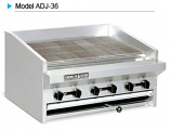 American Range ADJ-36 Adjustable Top Radiant Broilers