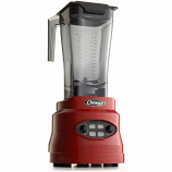 Omega BL630R Commercial Blender, 3 HP, Timer, Cyclic, 64oz Capacity, Red
