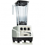 Omega BL490S Commercial Blender, 3 HP, Timer, Cyclic, 82oz Capacity, Silver